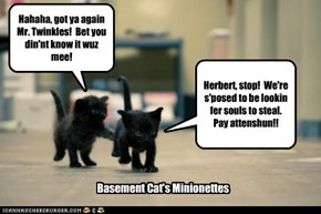 Basement Cat's Minionettes