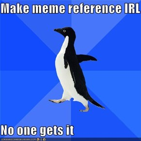 Socially Awkward Penguin: Y U No Get My Joke?