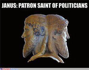 Janus, patron saint of politicians