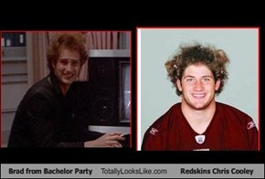 Brad from Bachelor Party Totally Looks Like  Redskins Chris Cooley