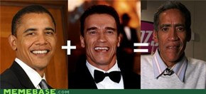 Obama+Schwarzenegger=Ted Williams