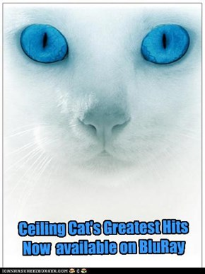 Ceiling Cat's Greatest Hits Now  available on BluRay
