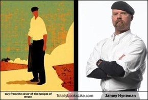 Guy from the cover of The Grapes of Wrath Totally Looks Like Jamey Hyneman