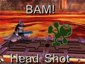 BAM!  Head Shot