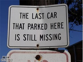 Parking Sign WIN