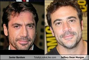 Javier Bardem Totally Looks Like Jeffery Dean Morgan