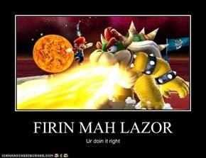 FIRIN MAH LAZOR