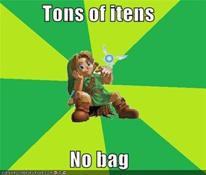 Tons of itens  No bag