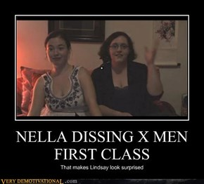 NELLA DISSING X MEN FIRST CLASS