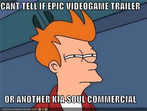 CANT TELL IF EPIC VIDEOGAME TRAILER  OR ANOTHER KIA SOUL COMMERCIAL