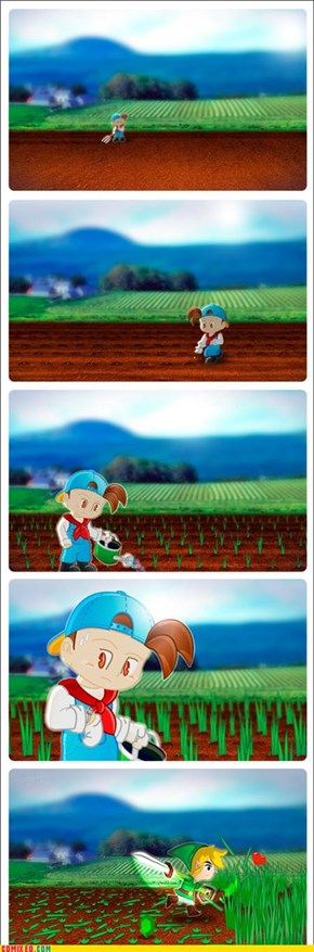 Link, You Jerk!
