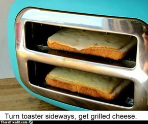 Without Cleaning Toaster First, Get Broken Toaster
