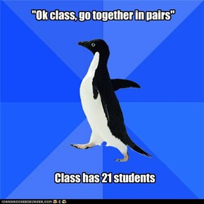 Socially Awkward Penguin: There Is No Logical Solution