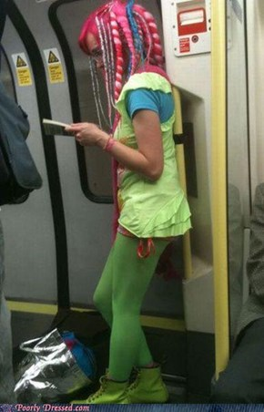 The Radioactive Waste Dumped into the Subway Tunnels Is Starting to Have an Adverse Effect on the Passengers