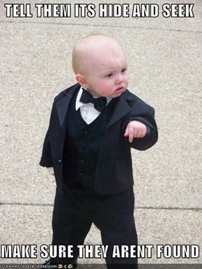 Baby Godfather: Have Them Count to Infinity Plus One!