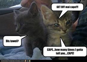 GET OFF mai cape!!!