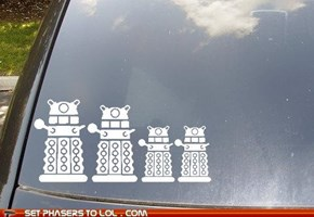 Dalek on Board