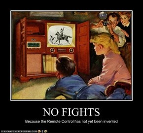 NO FIGHTS