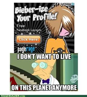 Bieber Fever? NNOOOOO