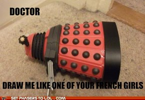 Saucy Little Dalek