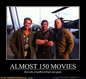 ALMOST 150 MOVIES