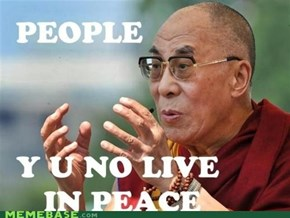 Y U No Zen?