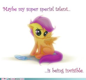 Sad Scootaloo