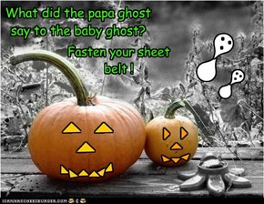What did the papa ghost say to the baby ghost?