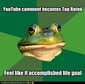 Foul Bachelor Frog: Nothing to Do Now But Fap