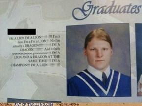 A Very Special Graduate