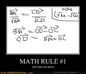 MATH RULE #1