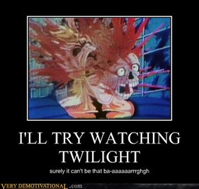 I'LL TRY WATCHING TWILIGHT