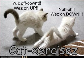Yuz off-cownt!!  Wez on UP!!!