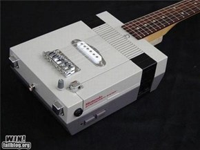Guitar Hero, now on NES too