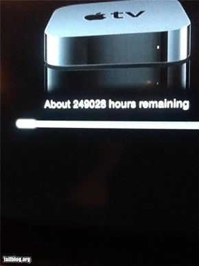 Apple TV Update FAIL