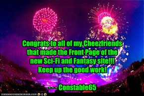 Congrats to all of you!!!