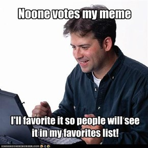 Noone votes my meme