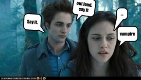 i know what you are Edward