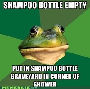 Foul Bachelor Frog: RIP Hygiene, Sistah
