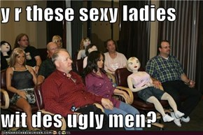 y r these sexy ladies  wit des ugly men?