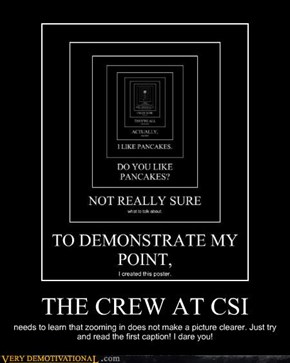 THE CREW AT CSI