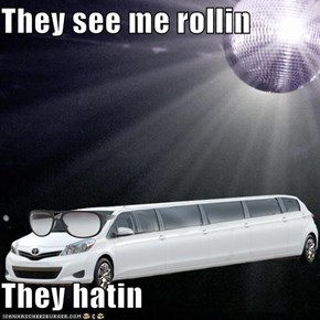 They see me rollin  They hatin
