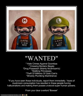 """WANTED"""