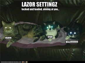 LAZOR SETTINGZ