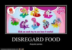 DISREGARD FOOD