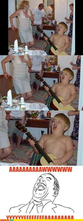 BOWL CUT GUITAR SOLO: AWW YEA