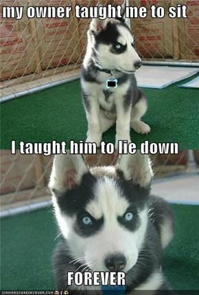 Good Boy...