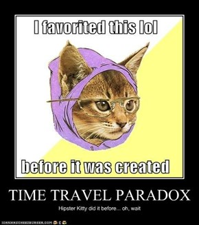 TIME TRAVEL PARADOX