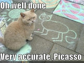 Oh well done  Very accurate ,Picasso