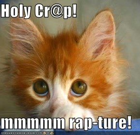 Holy Cr@p!  mmmmm rap-ture!